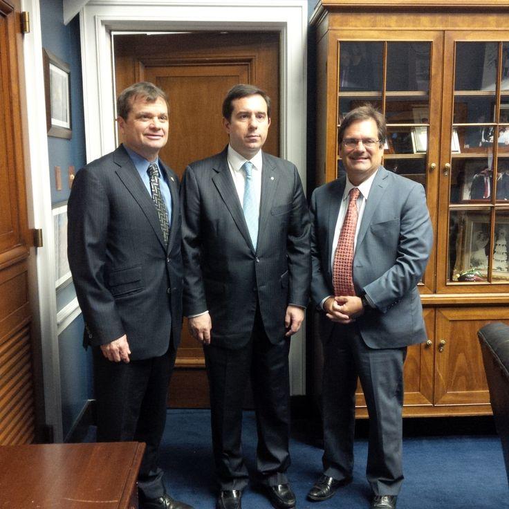 Συνάντηση με τους Gus Bilirakis (Μέλος της Βουλής των Αντιπροσώπων) και Mike Quigley (Μέλος του Κονγκρέσου) - http://goo.gl/zZp1je