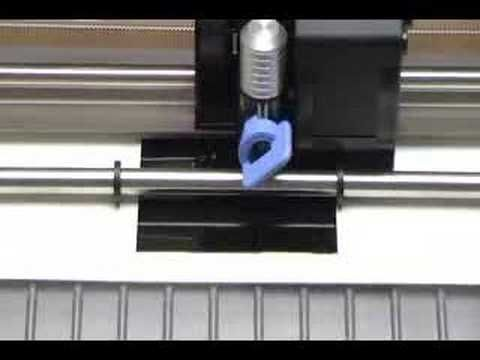 ▶ Engraving with the Craft ROBO, Wishblade and Silhouette - YouTube