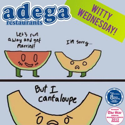 Witty Wednesday - Food Humour!