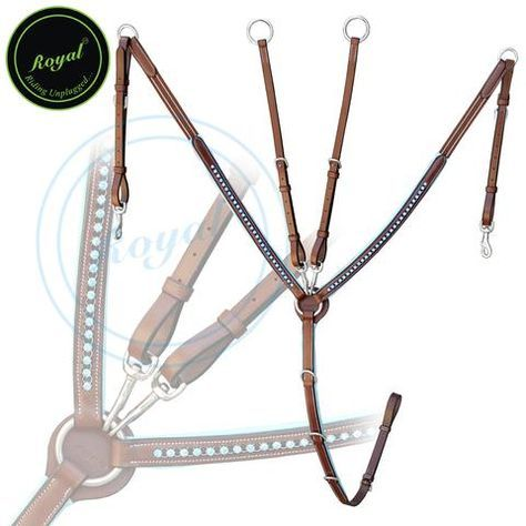 If you want to buy horse breastplates online, then Bridles & Reins is the company you have to lookout for. Based in Kanpur (Uttar Pradesh), our organization provides opportunities for our clients to buy breastplates for horses online at the most competitive prices. A royal brand horse tack is important but in addition to that, a Breastplate can often play a vital role in your rides. The right breastplate can help you in keeping your saddle at the determined place for a secure and best fit…