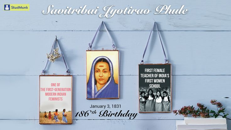 Savitribai Phule, who fought for women's rights in 19th century India. She was the India's #firstwomenteacher & a great social reformer. #SavitribaiPhule #186thBirthday