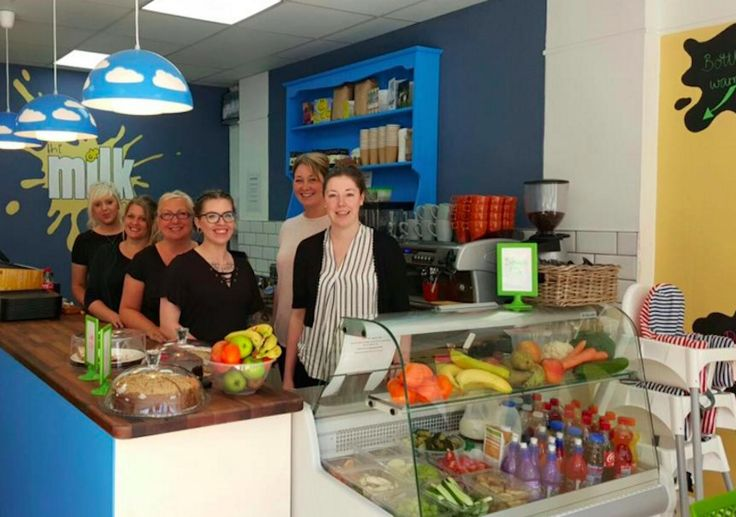 the milk lounge, breastfeeding cafe, cafe, family-friendly business