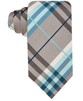 Geoffrey Beene Tie, Spring Pierre Plaid - Ties - Men - Macy's