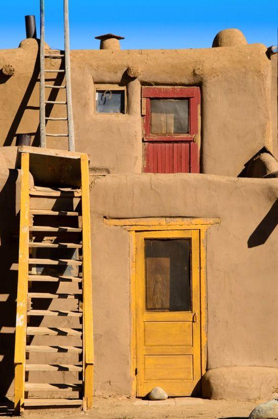Taos, pueblo de  Nuevo México.