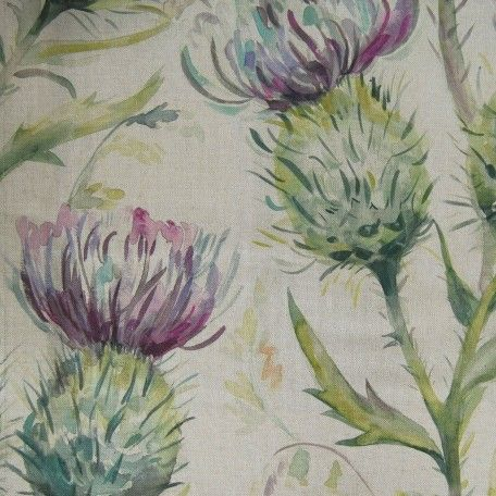 Voyage Fabrics Country 3 Thistle Glen spring - available in different colours