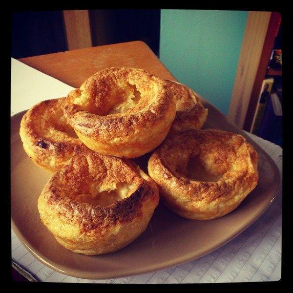 Simple Vegan Yorkshire Puddings