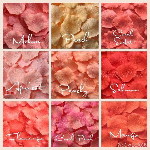 Hey, j'ai trouvé ce super article sur Etsy, chez https://www.etsy.com/ca-fr/listing/224146582/500-coral-silk-rose-petals-shades-of