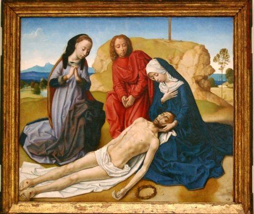 """¿Sabrías decirnos el autor de nuestra pieza estrella de la colección Gómez-Moreno, """"Llanto sobre el Cristo muerto""""? #inspirationMW"""