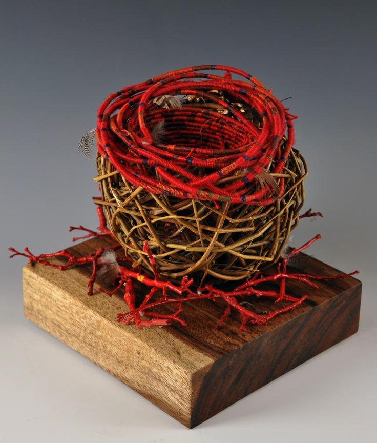 Basket Weaving Fiber : Best basket artists sculptural images on
