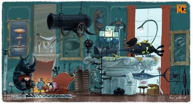 eric guillon: Gru's house