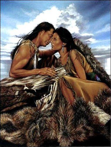 Native American Artists Paintings | Native American Love | Native Heritage
