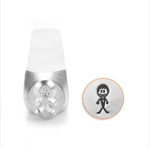 A personal favorite from my Etsy shop https://www.etsy.com/listing/228527914/groom-impress-art-metal-stamp-7mm-stick