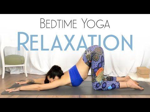 bedtime yoga for beginners  sleep better  day 29  yoga