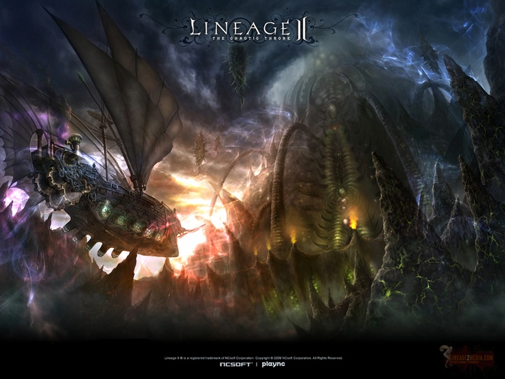 Lineage II - One of my favorite titles of all time.