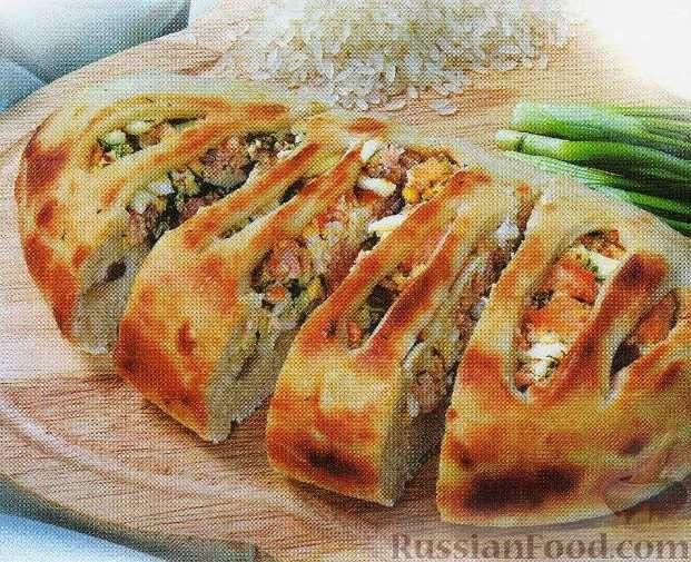 Как приготовить пирог дрожжевой с курицей и сыром