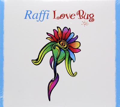 Raffi: Love Bug! Tracklist includes :01. Love Bug02. Doggone Woods03. Mama Loves It04. Free To Play05. In The Real World06. Water In The Well07. On Hockey Days08. Seeing The Heart09. Cool Down Reggae10. Magic Wand11. Wind Chimes12. To The Park13. Pete's Banjo14. This Land Is Your Land15. Blue White Planet16. Turn This World Around