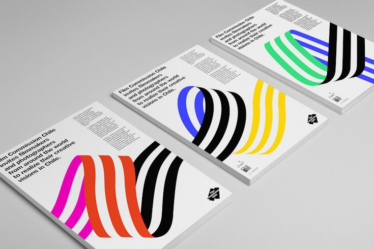 Film Commission Chile visual identity by Hey