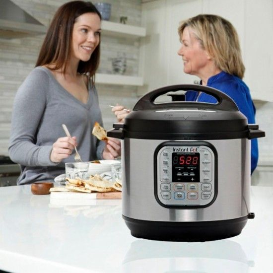 Instant Pot - 6-Quart Bluetooth Enabled Pressure Cooker - brushed stainless steel - Alt_View_Zoom_14