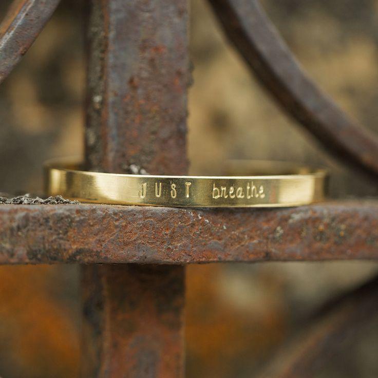 Thin Cuff Bracelet- Gold
