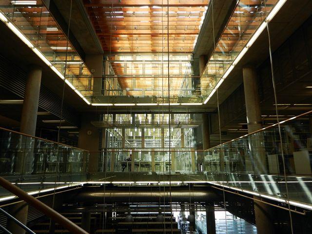 Centrum Informacji Naukowej i Biblioteka Akademicka w Katowicach | The Scientific Information Centre and Academic Library in #Katowice #Poland