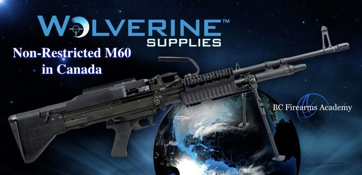 Non-Restricted M60 in Canada fromWolverine Supplies. Wolverine Suppliesposted an interestingitem they have for sale on theirFacebook Page,a non-restricted M60.
