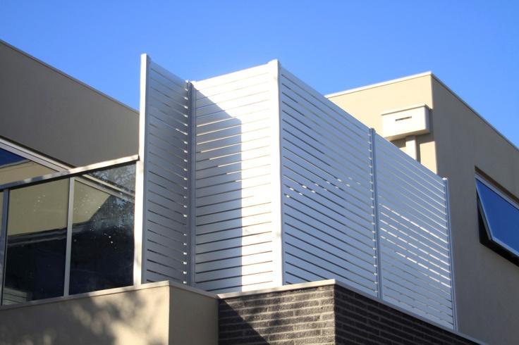 Aluminium Slat Privacy Screen