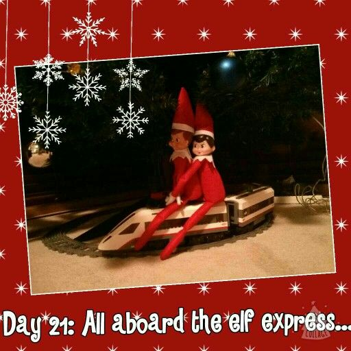 Day 21: All aboard the elf express....