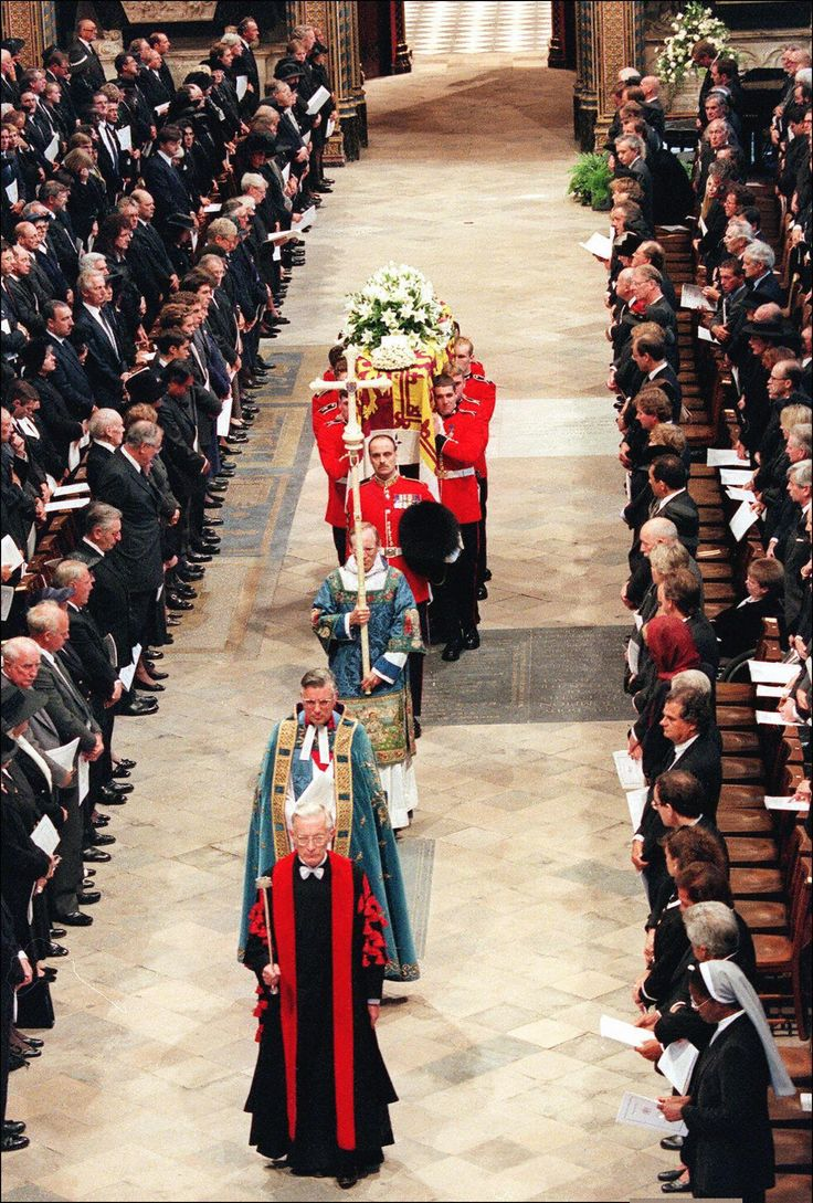 Princess Diana Funeral Details | POPSUGAR Celebrity