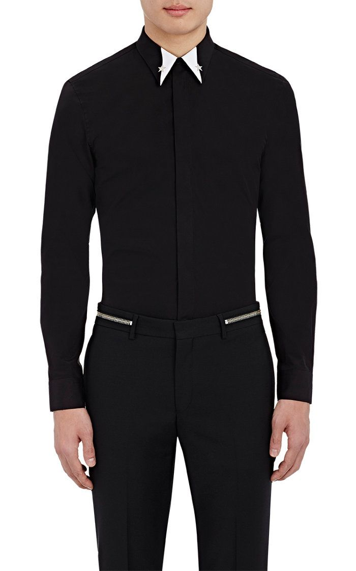 Givenchy Embellished Button-Front Shirt | Barneys New York