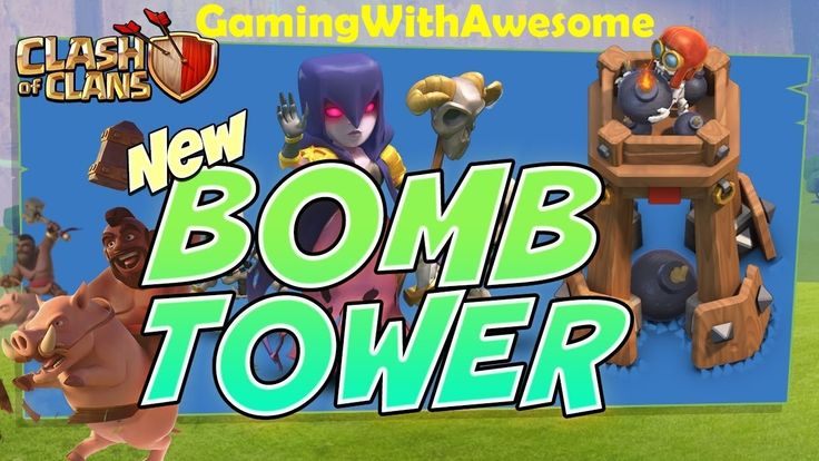 Clash Of Clans Update - BOMB TOWER (New Defence) | Improved Hogrider & W...