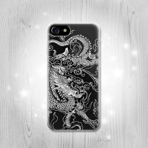 Samurai and Dragon iPhone 11 case