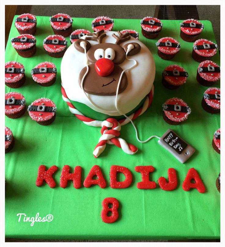 Reindeer Birthday Cakes
