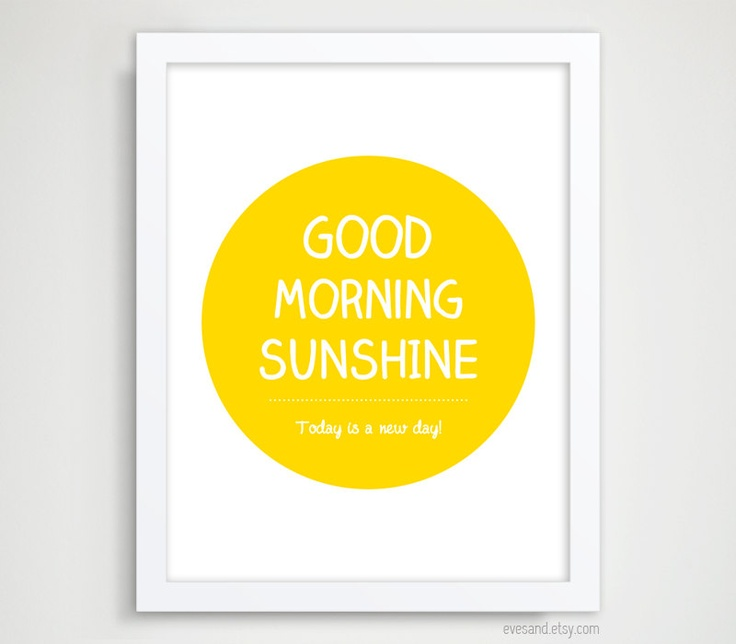 Good Morning Sunshine Tee : Pinterest the world s catalog of ideas