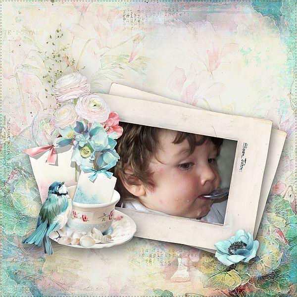 """A cup of tea"" by DitaB Designs  Lolly Bag 1 - PU {by DitaB Designs}"