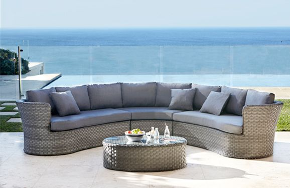 Barbeques Galore - Products - Palermo 4 Piece Modular Lounge Setting