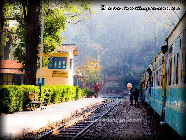 Kalka-Shimla Toy Train in Himachal Pradesh, North India