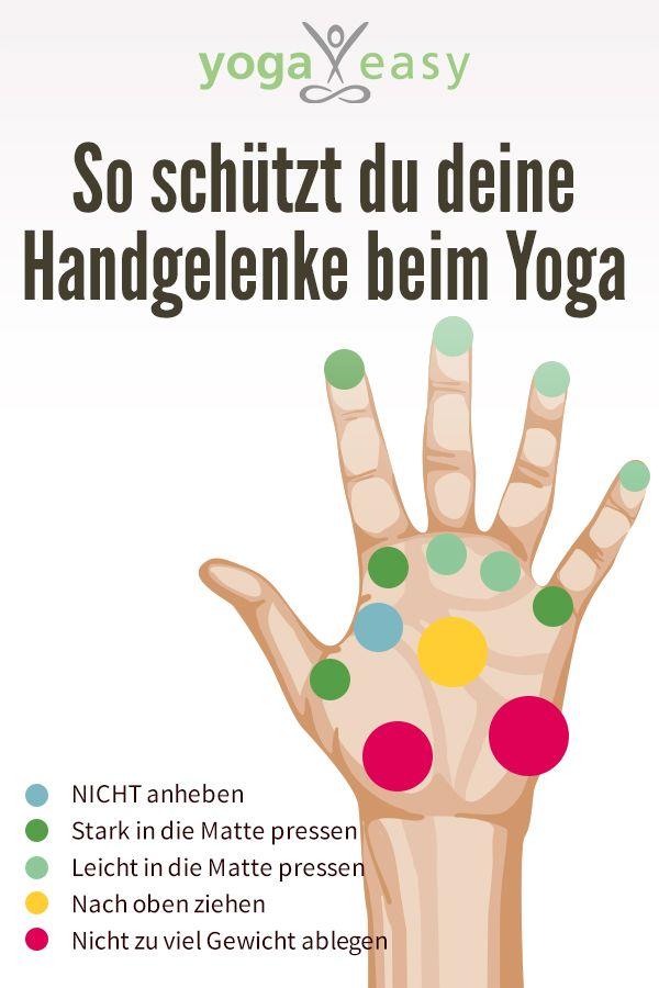 Handgelenke beim Yoga: Schützen, entlasten, stärken – YogaEasy – dein Online-Yogastudio