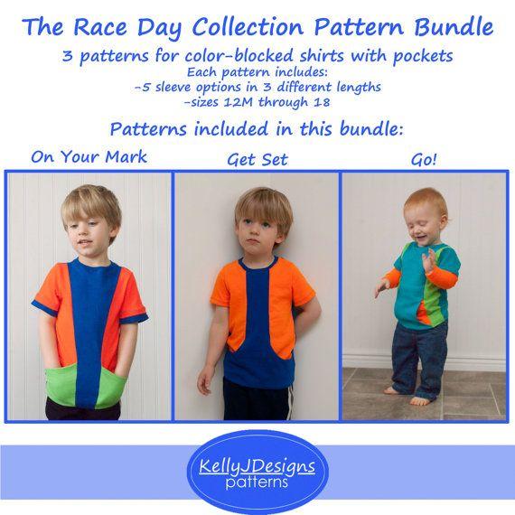 Op uw merk, ga, Go! De Race dag collectie is een verzameling van patronen u opnieuw en opnieuw gebruikt! Deze drie slanke-montage…