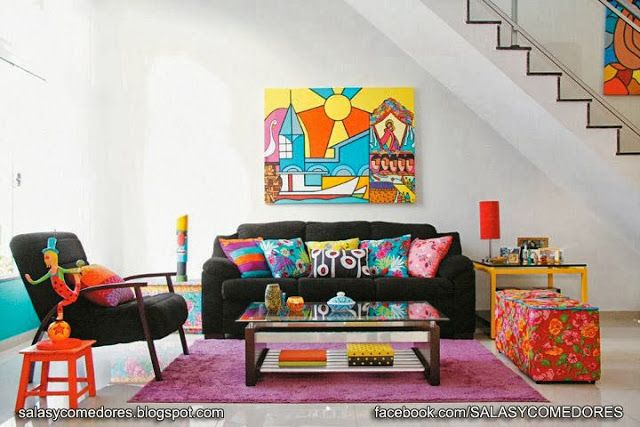 SALAS Y COMEDORES DECORACION DE LIVING ROOMS DECORATION
