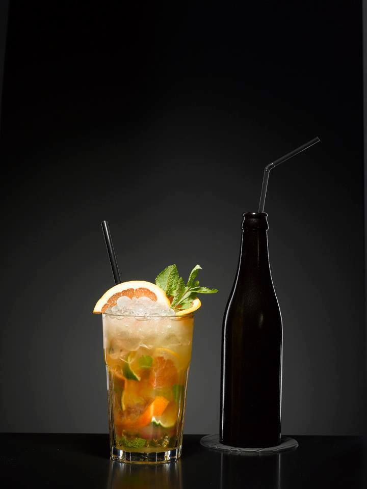 Mattoni Fruit Cocktail #drink #cocktail #fruit #orange #mattoniwater #design