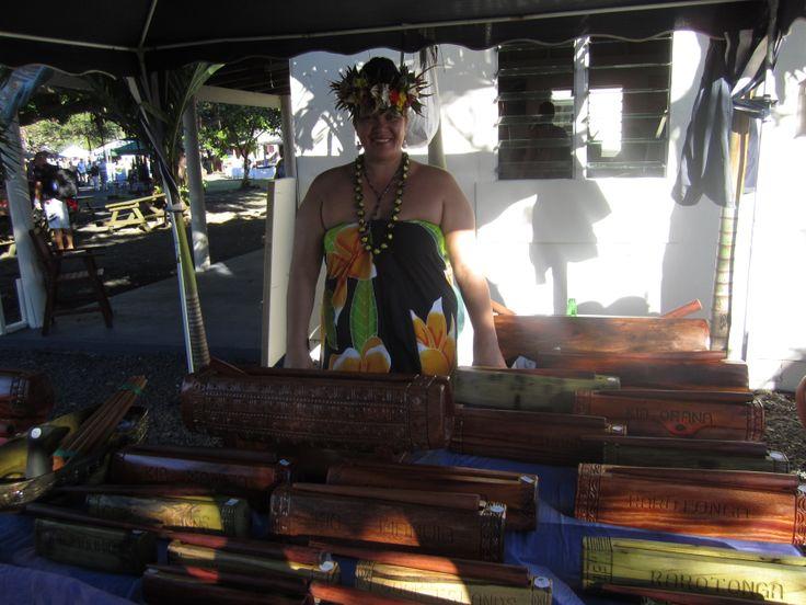 Local market goods in Rarotonga  #CookIslands #Rarotonga #Vacation