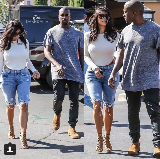 Mr & Mrs West #steppingout #simplicity