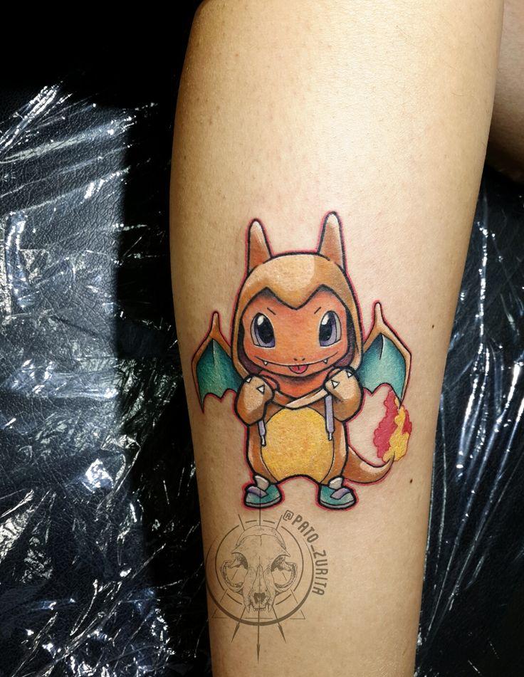 charmander tattoo pokemon tattoo