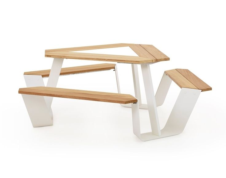 Extremis - Anker - table - seat - picknick - wood - steel - outdoor - furniture