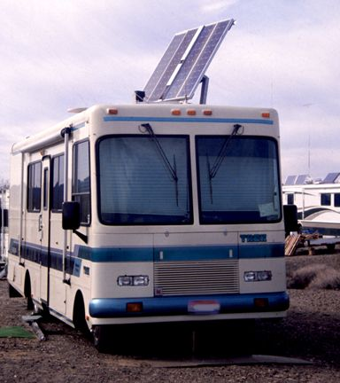 Solar power for your RV. #Rving #Coatings #Roofings http://www.epdmcoatings.com/