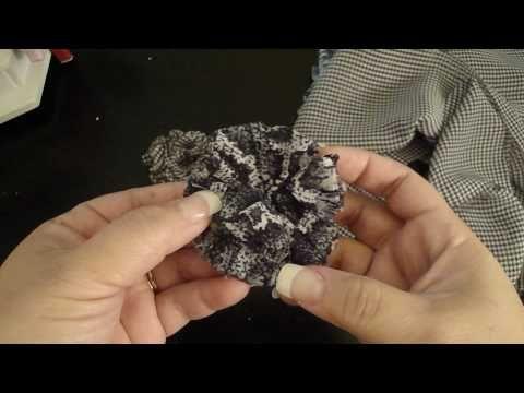 LiveLoveScrap-Fabric Flower