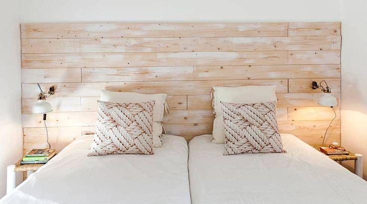 Novilei - Blog Imobiliário — 8 cabeceiras de cama fáceis de reproduzir em casa  #blog #cama #cabeceira #decoracao