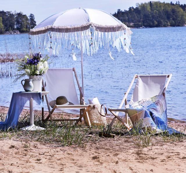 Tuunaa aurinkovarjo ihanaksi | Unelmien Talo&Koti