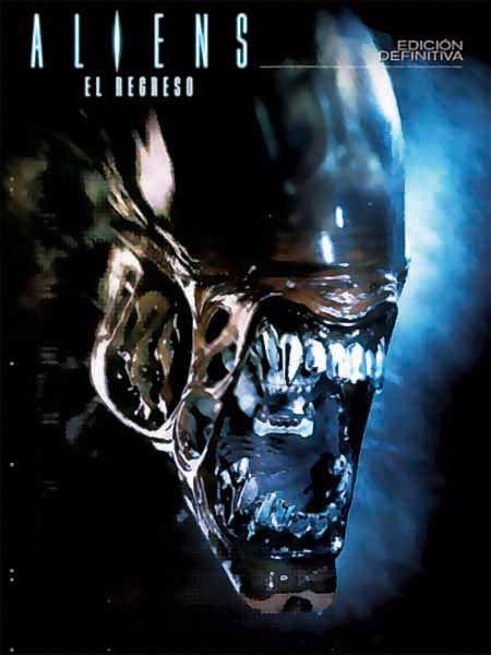 Aliens, el regreso (1986) EEUU. Dir.: James Cameron. Ciencia ficción. Acción. Películas de culto -- DVD CINE 1619
