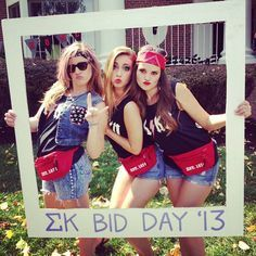 rock 'n' roll bid day theme